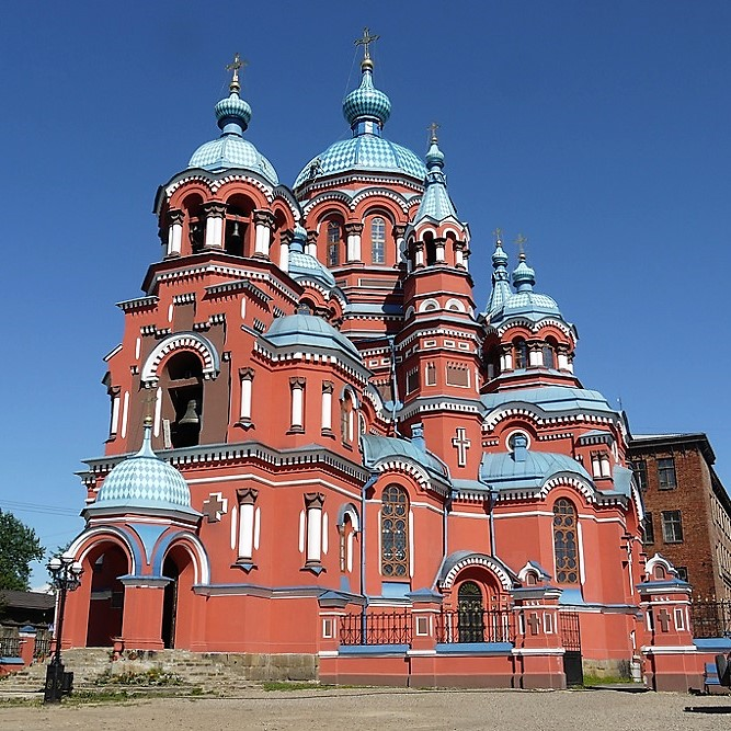 Irkutsk Kazanski Church