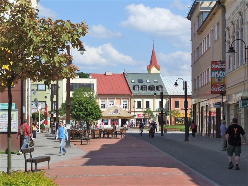 Liptovský_Mikuláš_-_pedestrian_zone